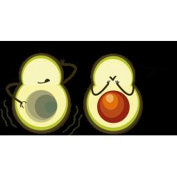 Sticker Avocats Un Petit...