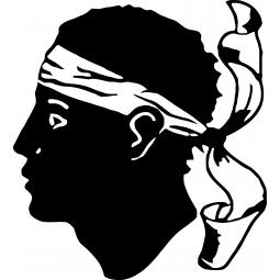 Sticker Emblème de la Corse