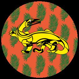 Sticker Salamandre dragon