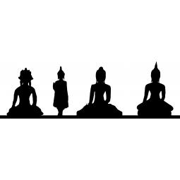 Sticker Statues hindouistes