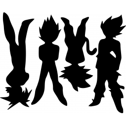 Stickers Silhouettes...