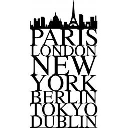 Sticker Villes célèbres