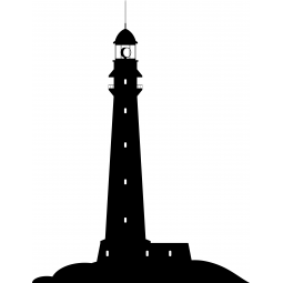 Sticker Silhouette de phare