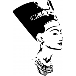 Sticker Néfertiti