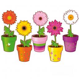Stickers Pots de fleurs