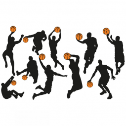 Stickers Basketteurs