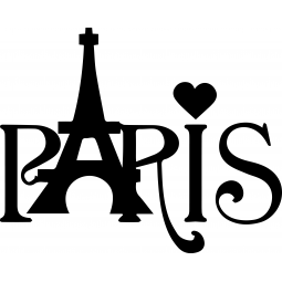 "Sticker ""PARIS"" Tour Eiffel"