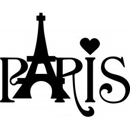"Sticker ""PARIS"" Tour Eiffel"
