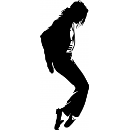 Sticker Michael Jackson sur...