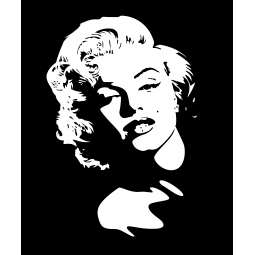 Sticker Marylin Monroe