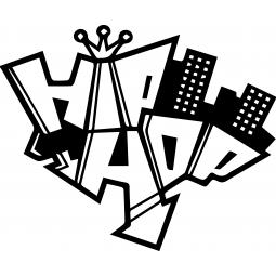Sticker Hip Hop ville