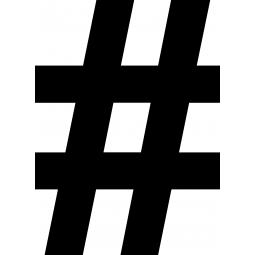 Sticker Hashtag