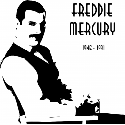 Sticker Freddie Mercury