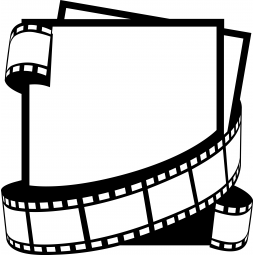 Sticker Fiches cinéma avec...