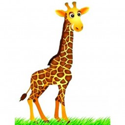 Sticker Girafe souriante
