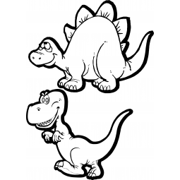 Stickers 2 dinosaures