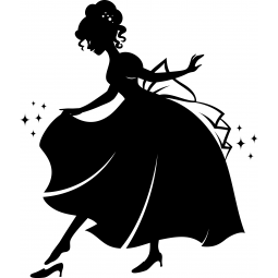 Sticker Cendrillon