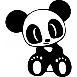 Sticker Petit Panda