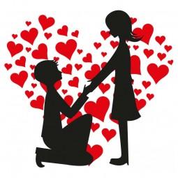 Sticker demande en mariage
