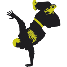 Sticker Breakdancer