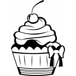 Sticker Cup Cake