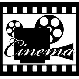 "Sticker Caméra ""Cinéma"""