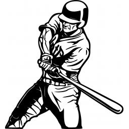 Stricker Baseballeur à la...