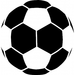 Sticker ballon de foot