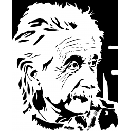 Sticker Albert Einstein