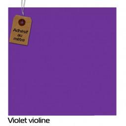 Adhésif Violet Violine au...
