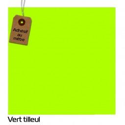 Adhésif Vert Tilleul au...