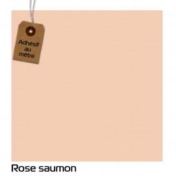 Adhésif Rose Saumon au...