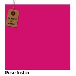 Adhésif Rose Fushia au...