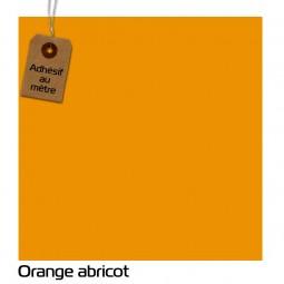 Adhésif Orange Abricot au...