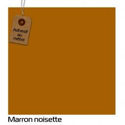 Adhésif Marron Noisette au...