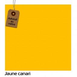 Adhésif Jaune Canari au...