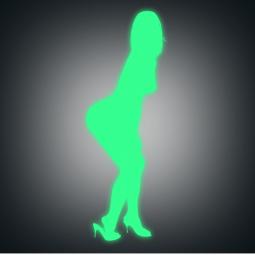 Sticker Femme sexy de...