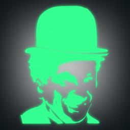 Sticker Charlie Chaplin...