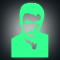 Sticker Johnny Hallyday...
