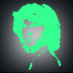 Sticker Jim Morrison PHOSPHO