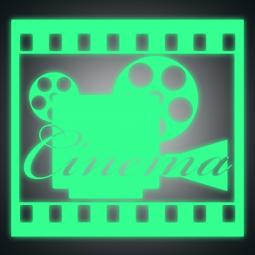 Sticker Cinéma PHOSPHO
