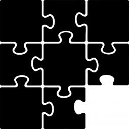 Sticker Puzzle FLUO