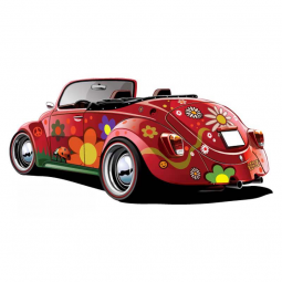 Sticker Voiture Coccinelle...