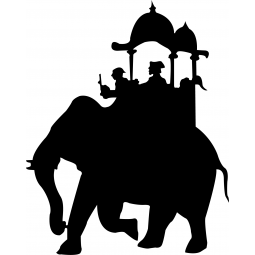 Sticker Éléphant du maharaja