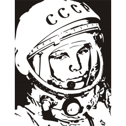 Sticker Yuri Gagarin