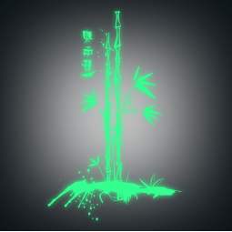 Sticker phospho 2 bambous...