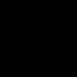 Sticker Silhouette de Coq