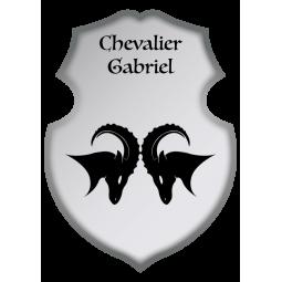 Sticker Bouclier Béliers...