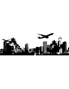 Stickers villes : New York, Londres, Paris... - Mon Sticker Déco