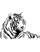 Stickers Fauves : lion, tigre, panthère, guépard - Mon Sticker Déco